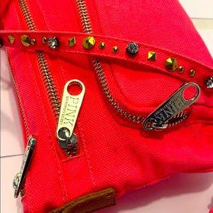 NWOT PINK Victoria Secret Fuschia Mini Sling Bag